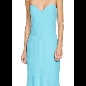 Mignon Turqoise Gown